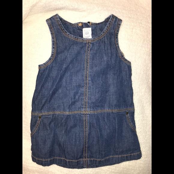 Baby Gap 12-18 Mo. Denim Dress in VGC